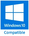 kompatibel mit Windows 10